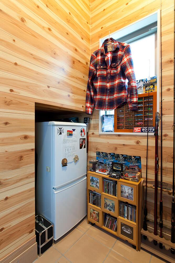 趣味スペース(冷蔵庫)