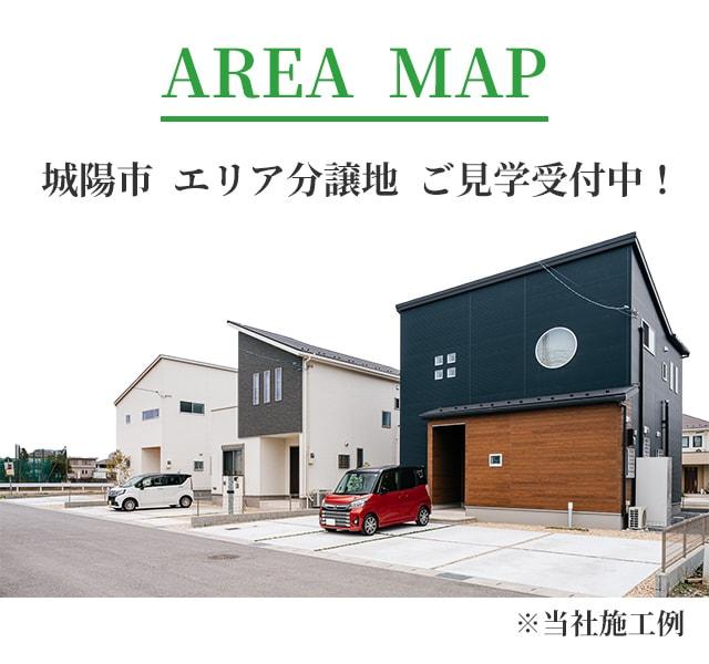 城陽市エリアマップ