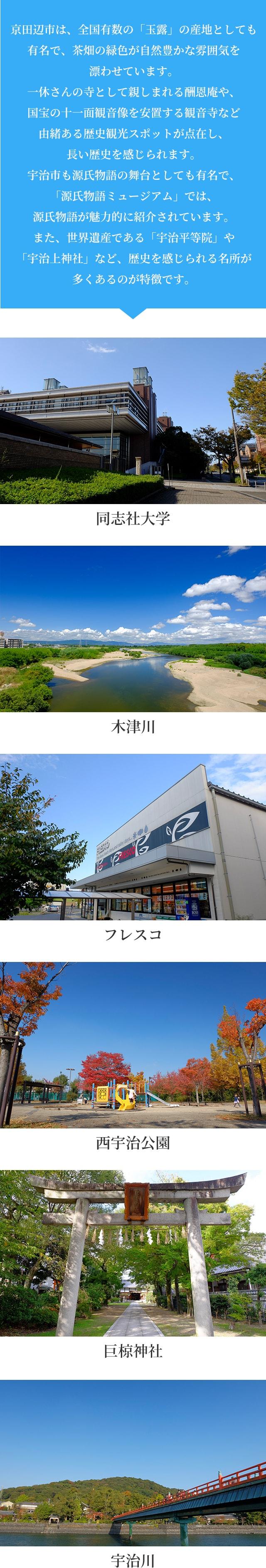 京田辺市・宇治市おすすめ分譲地